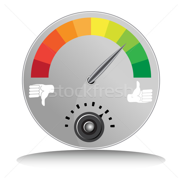 Like Dislike Meter Stock photo © cteconsulting