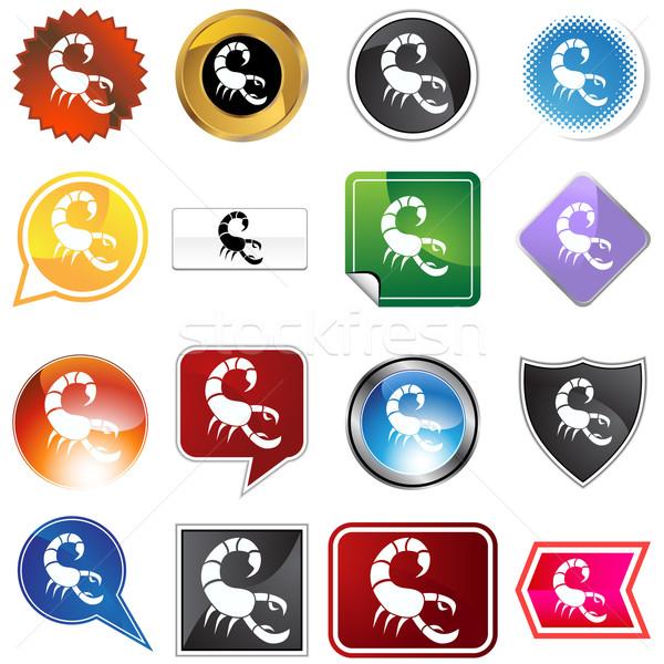 Multiple Buttons - Scorpio Stock photo © cteconsulting
