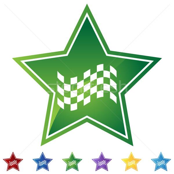 Stock photo: Checkered Flag