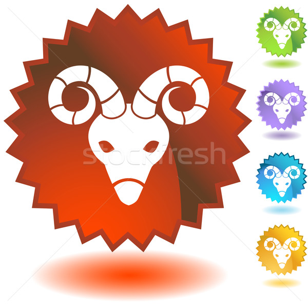 Zodiac - Aries Stock photo © cteconsulting