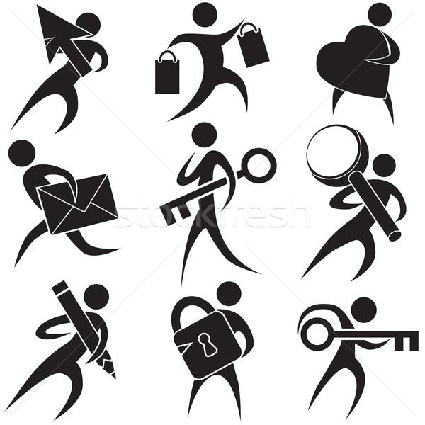 People Icons Stock photo © cteconsulting
