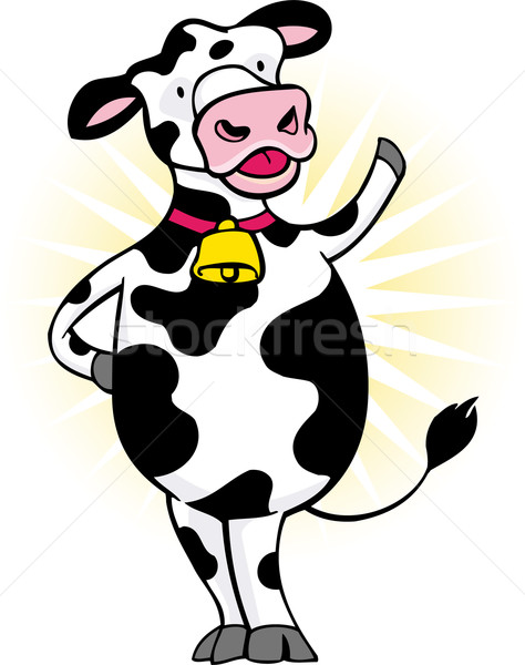 Happy Cow Stock photo © cteconsulting