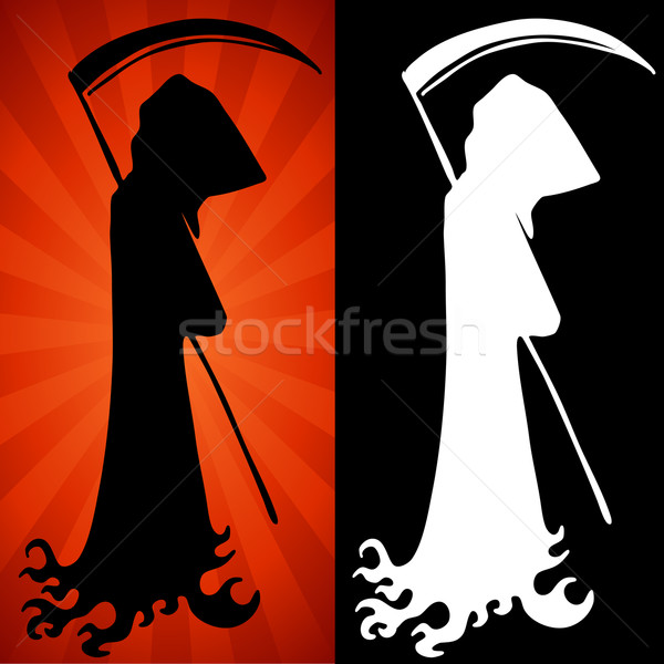 Grim Reaper Set Stock photo © cteconsulting