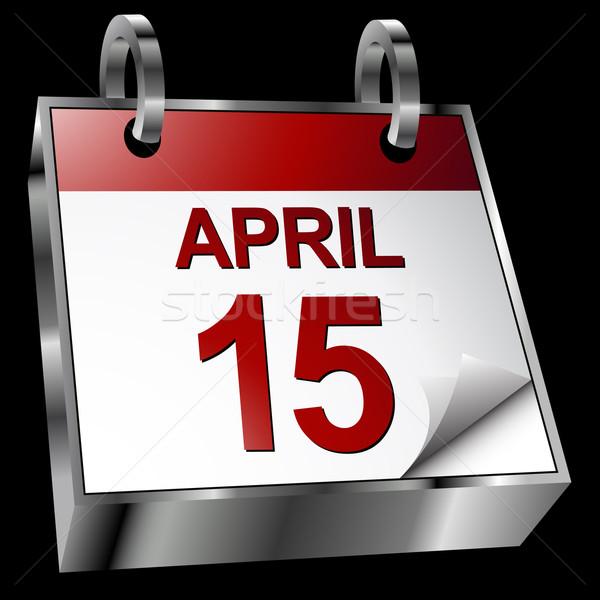 Tax Deadline Calendar Stock photo © cteconsulting