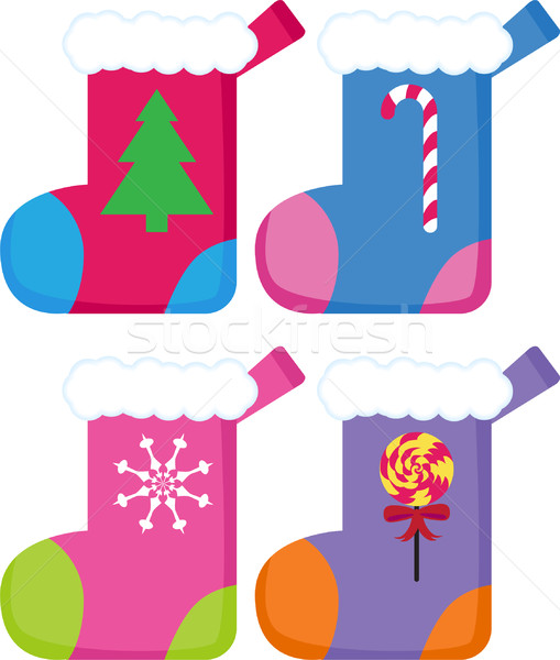 Christmas Stockings Stock photo © cteconsulting