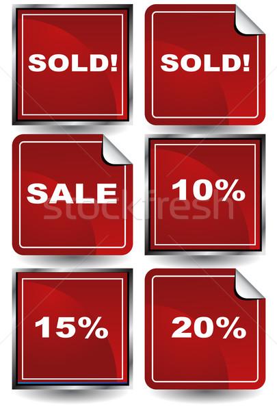 розничной иконки бизнеса домой успех Сток-фото © cteconsulting