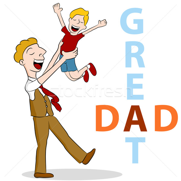 Great Dad Stock photo © cteconsulting