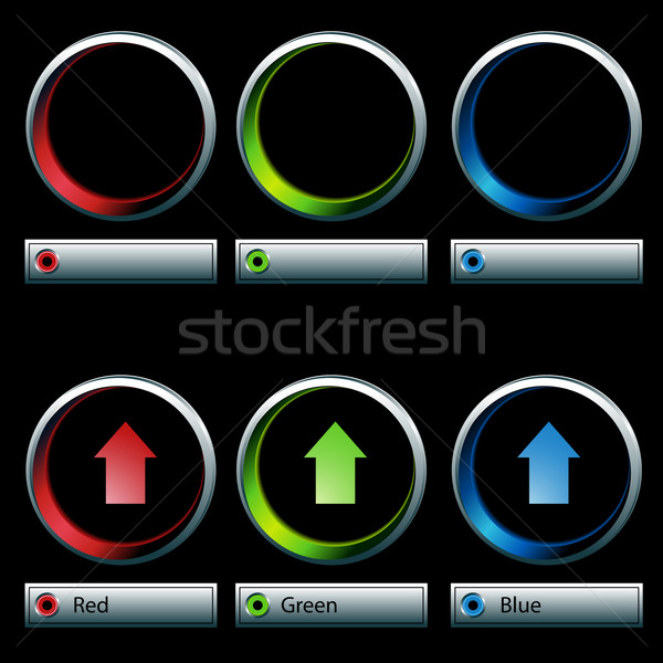 Color Control Dials Stock photo © cteconsulting