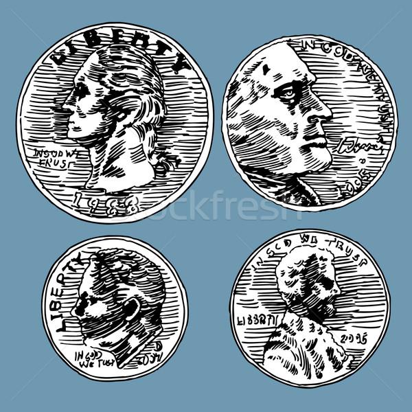 U.S. Coins Stock photo © cteconsulting