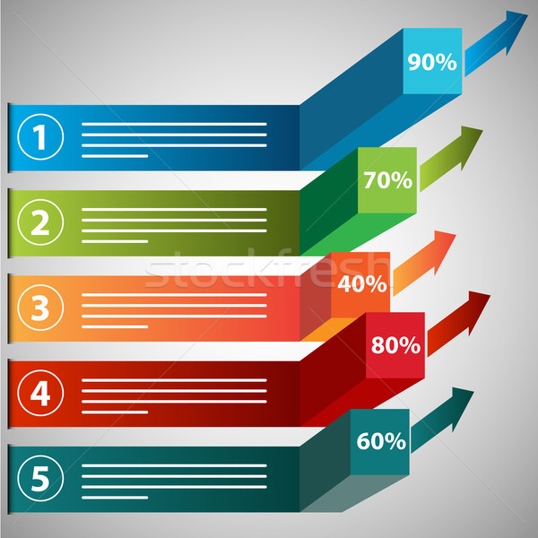 Growing Profits Chart Icon Stock photo © cteconsulting