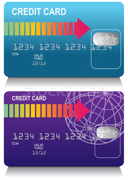 Credit Card Set Stock photo © cteconsulting
