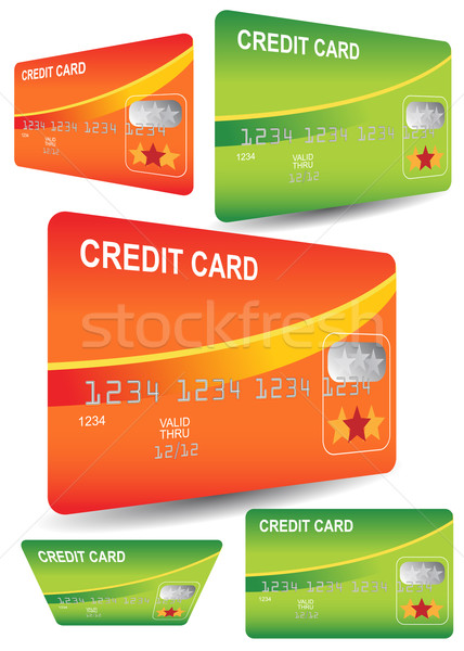 Stock photo: Credit Cards