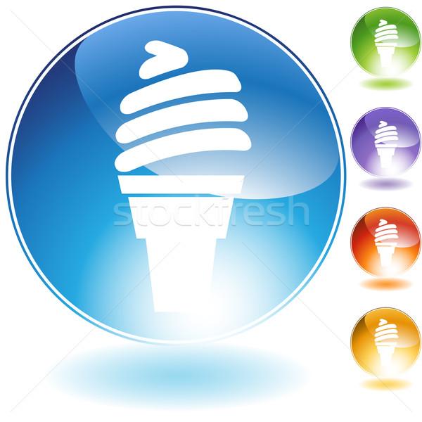 Fagylalttölcsér kép étel nyár tej fehér Stock fotó © cteconsulting