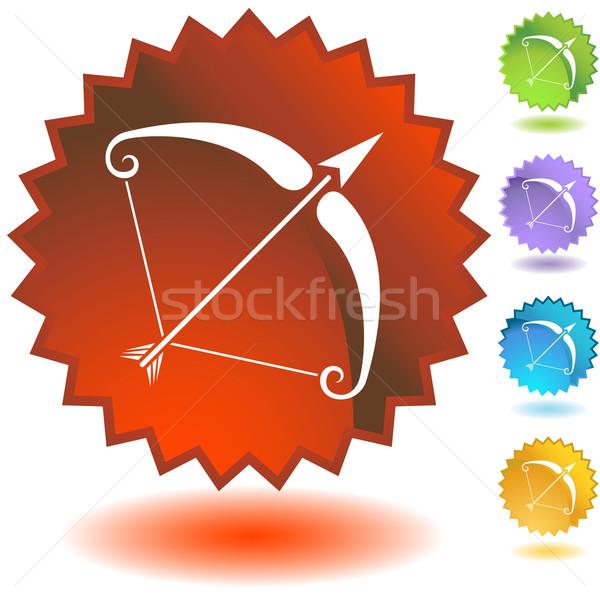Label - Sagittarius Stock photo © cteconsulting