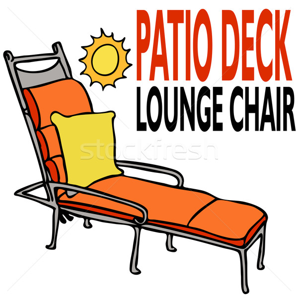 Patio Deck Lounge Chair Stock photo © cteconsulting