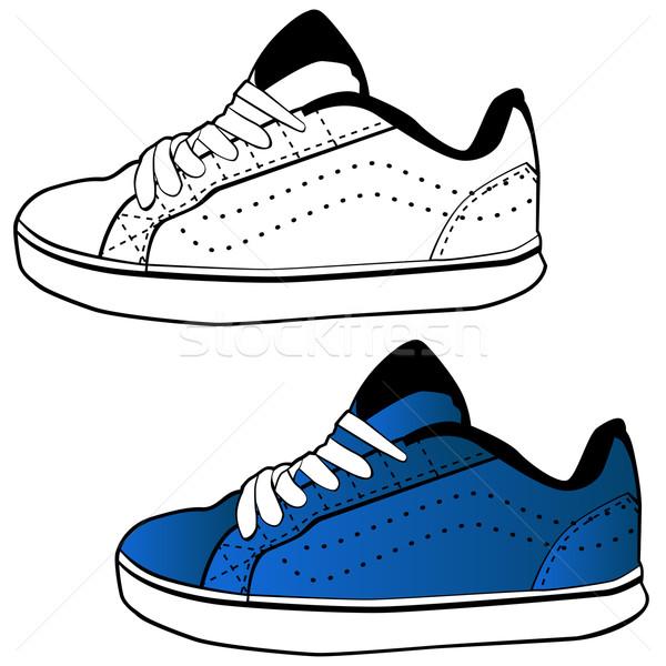 Running Shoe Stock photo © cteconsulting