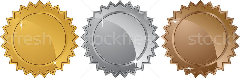 Stock photo: Medal Set