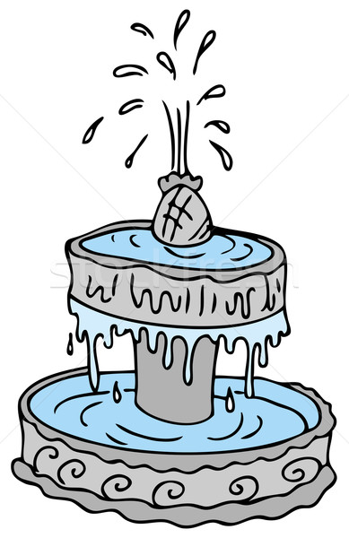 Fountain Stock photo © cteconsulting