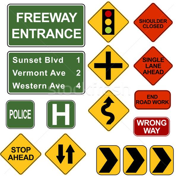 Road Signposts Stock photo © cteconsulting