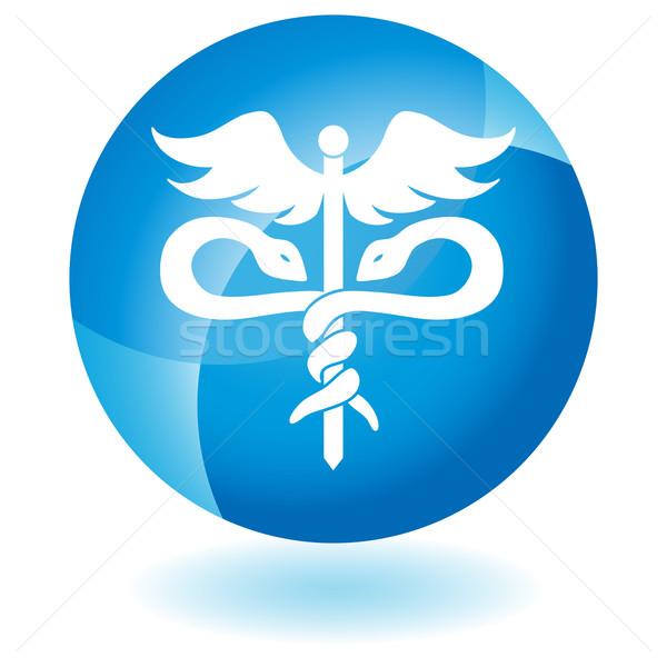 Caduceus Medical Symbol Stock photo © cteconsulting