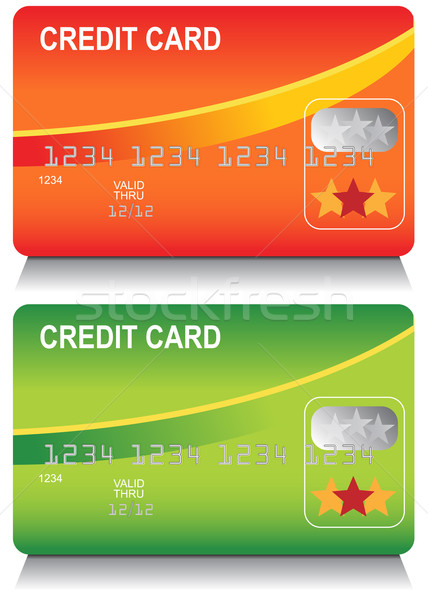 Stock photo: Credit Card Set