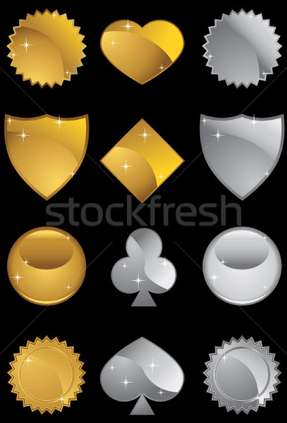 Assorted Icon Shapes  Stock photo © cteconsulting
