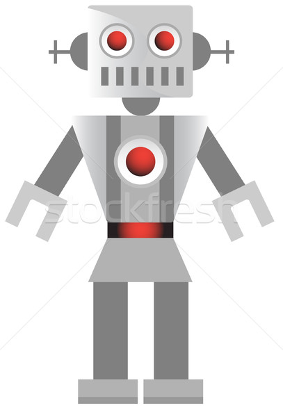 Stock photo: Robot