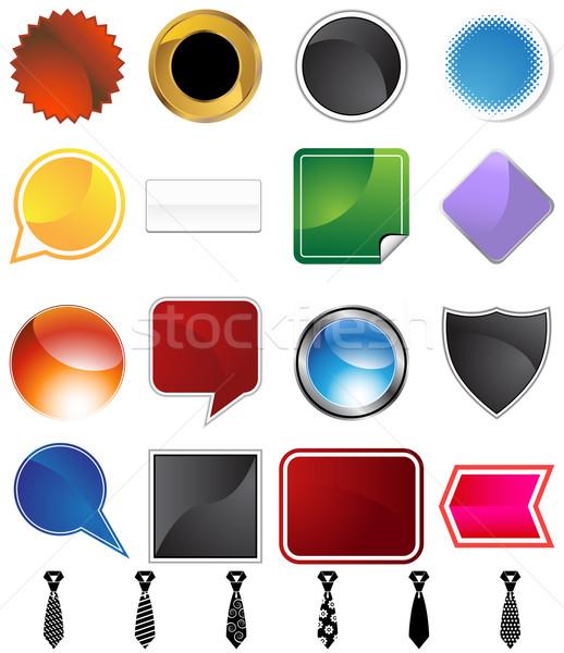 Necktie Variety Set Stock photo © cteconsulting