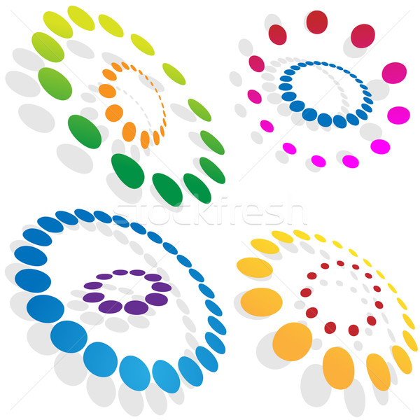 Morphing Dotted Circles Stock photo © cteconsulting