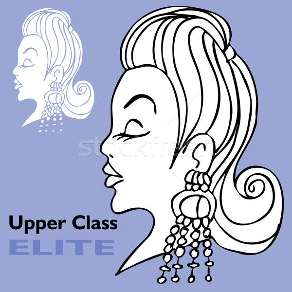 элита девушки большой изображение женщину Сток-фото © cteconsulting