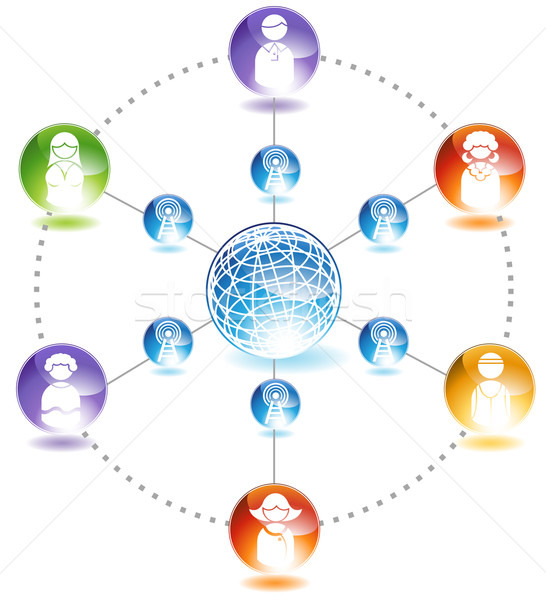 Online Community Stock photo © cteconsulting