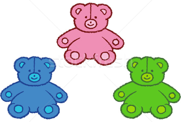 Stitched Bears Stock photo © cteconsulting