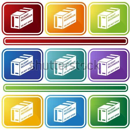 Geometrie kubus geïsoleerd witte architectuur Stockfoto © cteconsulting