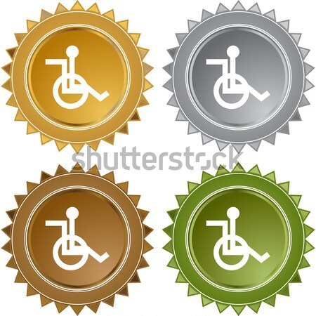 Disabled Symbol Stock photo © cteconsulting