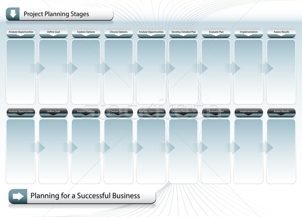 Successful Business Planning Chart Stock photo © cteconsulting