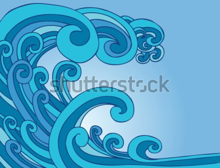 Tsunami Tidal Wave Stock photo © cteconsulting