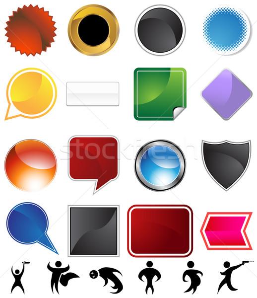Character Variety Set Stock photo © cteconsulting