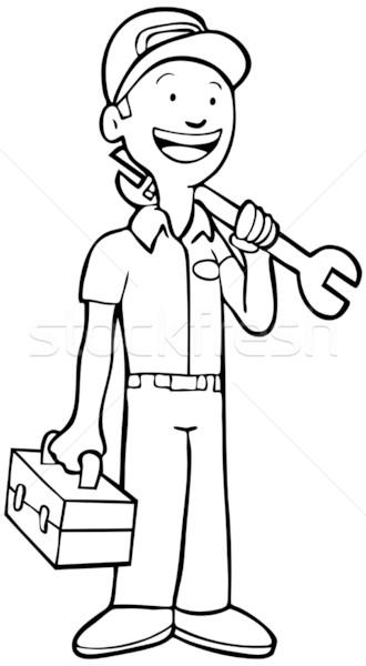 Mechanic Stock photo © cteconsulting