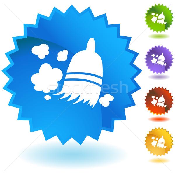 Ginestra set icone sfondo web star Foto d'archivio © cteconsulting