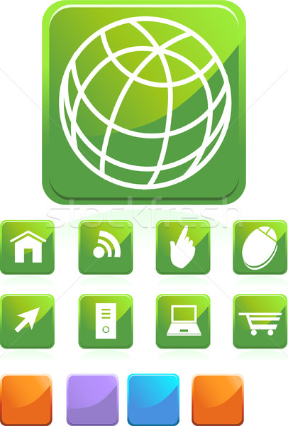 Web Icons Stock photo © cteconsulting