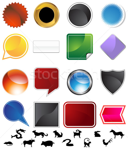 Chinese Zodiac Variety Set Stock photo © cteconsulting