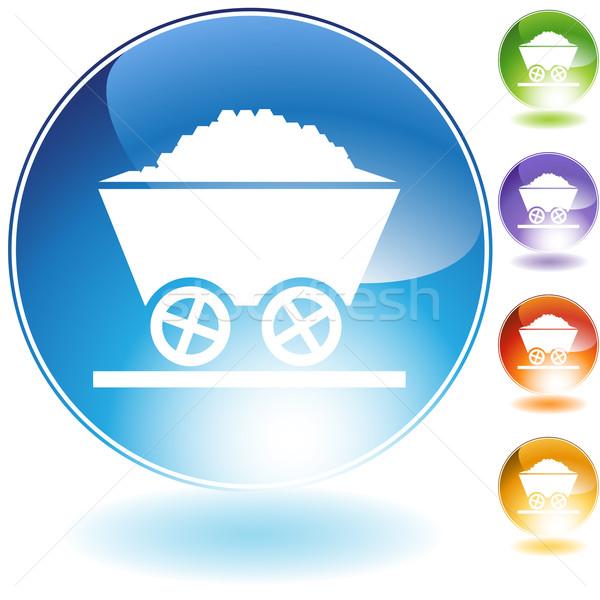 Mining Cart Icon Stock photo © cteconsulting