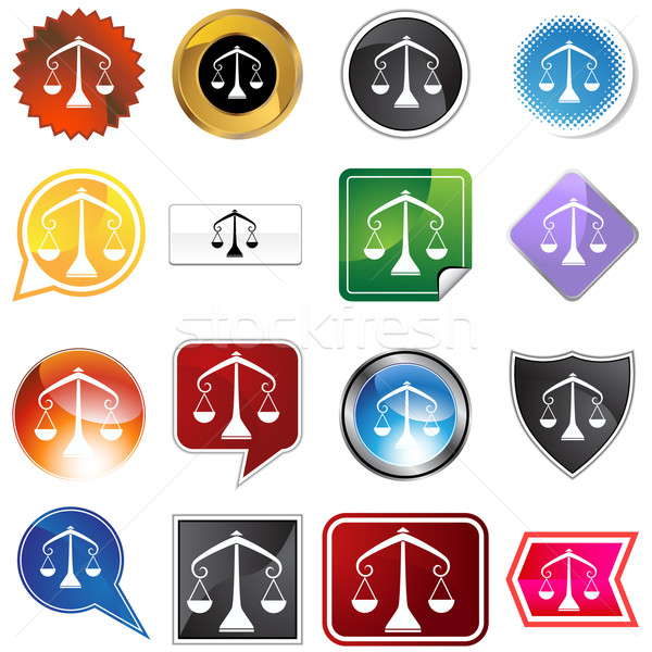 Multiple Buttons - Libra Stock photo © cteconsulting