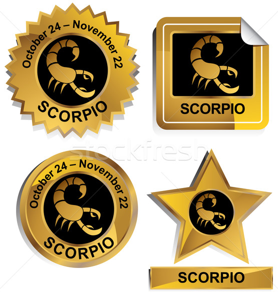 Zodiac - Scorpio Stock photo © cteconsulting
