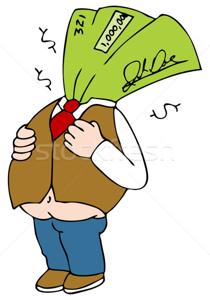 Fat Paycheck Stock photo © cteconsulting