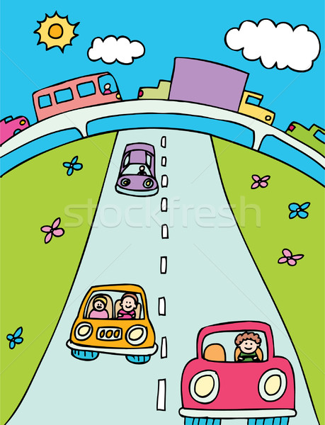 Road Trip Stock photo © cteconsulting