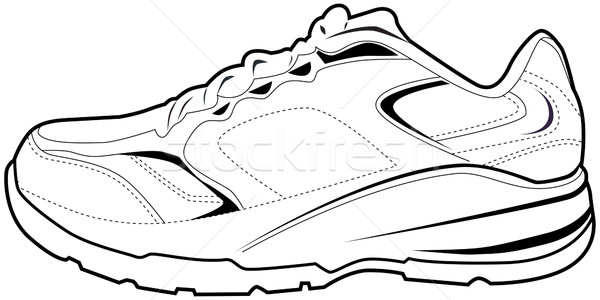 Tennis Shoe Stock photo © cteconsulting
