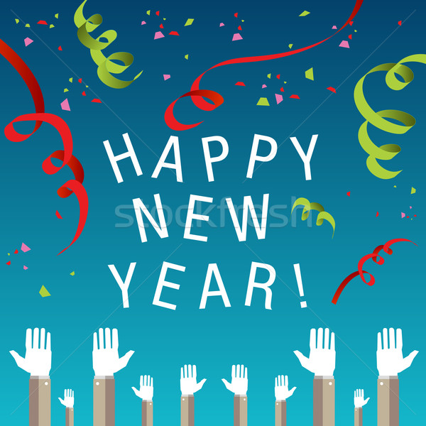 Happy New Year Background Stock photo © cteconsulting