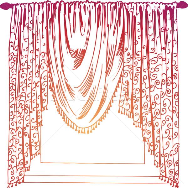 Curtains Stock photo © cteconsulting