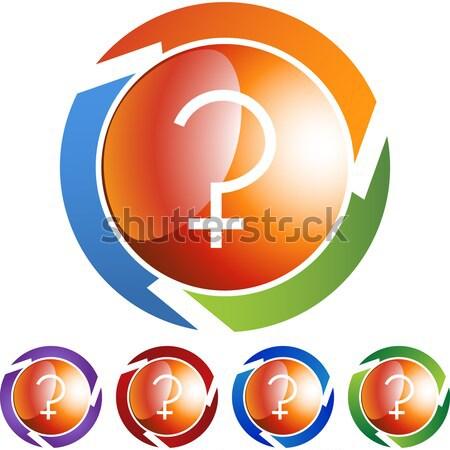 Dini düğmeler ayarlamak semboller soyut dizayn Stok fotoğraf © cteconsulting